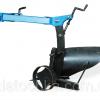 Плуг активный с опорным колесом AGROLUXE (к мотоблокам 1100,105,135) (захват 200мм, глубина до 250 мм) (БУЛАТ) 2294