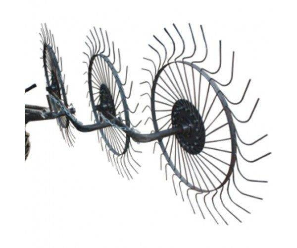 Грабли-ворошилки Солнышко 3-х колесные под минитрактор ширина захвата180 см.(ПОЛТАВА)