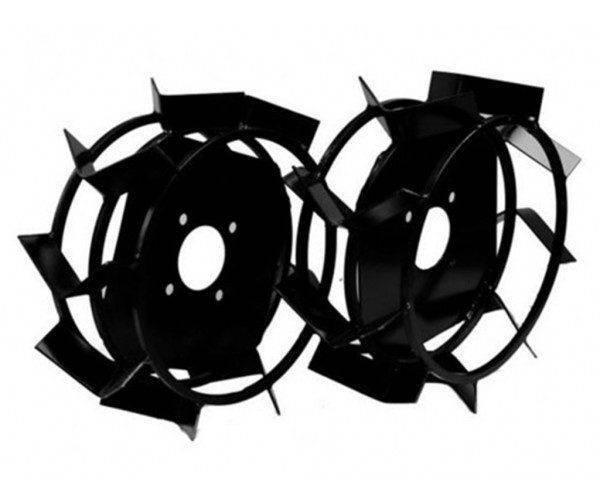Колеса с грунтозацепами Ø 450мм (квадрат 12х12, высота зацепа 40мм, ширина 160мм) (БУЛАТ)