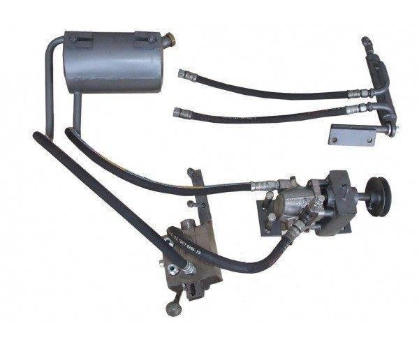 Гидравлика на мототрактор (БУЛАТ)