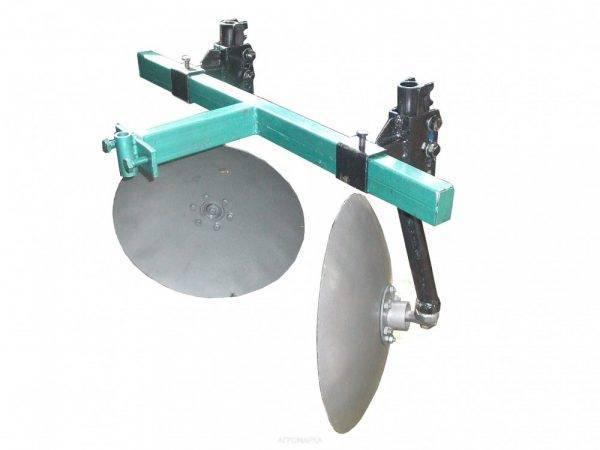 Окучник дисковый Ø 420мм регулируемый на 2-ой сцепке.захват 400-800мм (БУЛАТ)