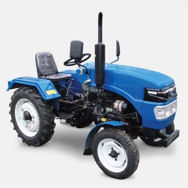 Трактор T240 (24 л.с., 3 цилиндра, КПП (3+1)х2, регулируемая колея)