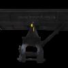 Лопата  отвал для минитрактора ОТ-160 метра ( КОРУНД ) 4448