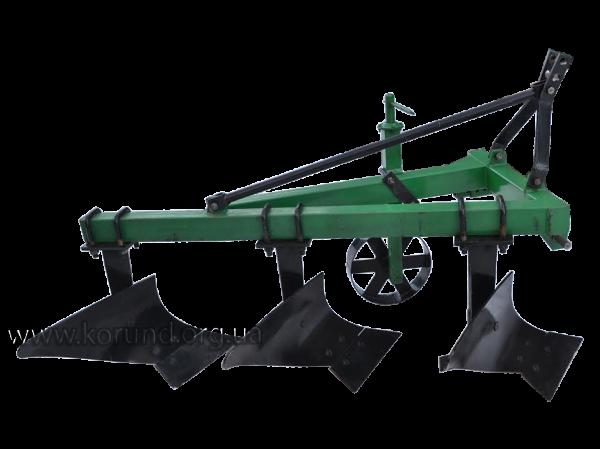 Плуг для минитрактора ПЛН-3-20 трехкорпусный ( КОРУНД )