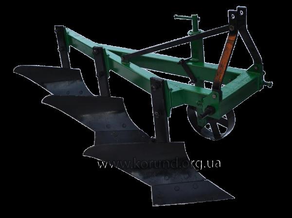 Плуг для минитрактора ПЛН-3-25 трехкорпусный ( КОРУНД )