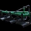 Плуг для минитрактора ПЛН-3-25 с предплужником ( КОРУНД )