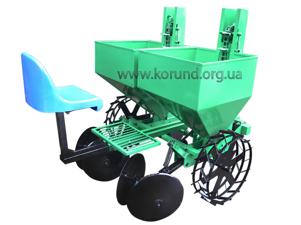Картофелесажалка двухрядная для минитрактора КСН-2м ( КОРУНД )