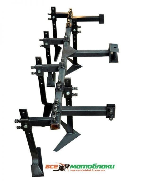 Плоскорез 2-х рядный (6шт) 1000-1600 мм без опорных колесом ( ПОЛТАВА )