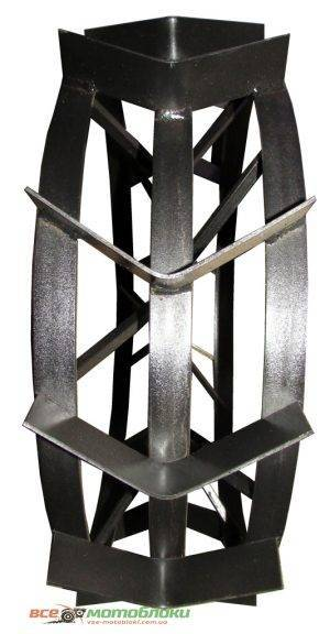 Колеса з грунтозачепами - Ø700/100 мм