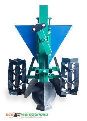 Картофелесажалка механизированная КСЦ-1 (цепная, с регулировкой посадки) + 250 грн с транспортировочными колесами
