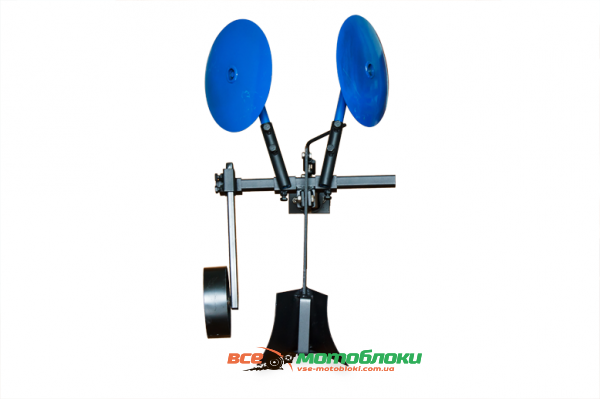 Картофелесажалка оборотная КП-1 (AGROMARKA) диски на подшипниках с опорным колесом