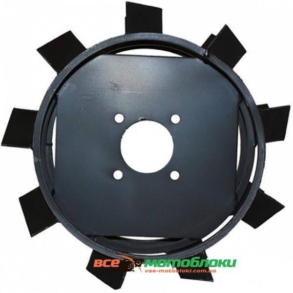 Колеса с грунтозацепами - Ø 450/150 мм