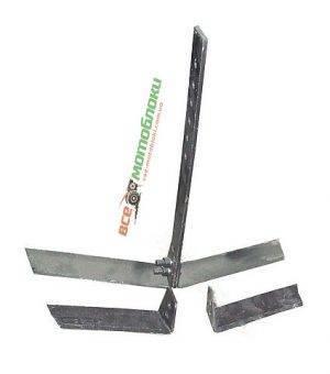 Плоскорез (2 пары ножей) + стойка (БУЛАТ)