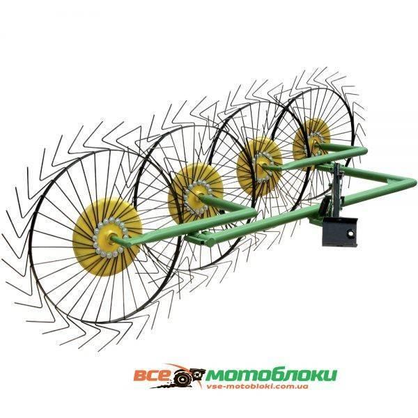 Грабли Солнышко ГВР-4 - 180 см