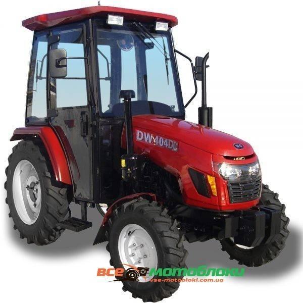 Трактор DW404 DC