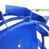 Колеса с грунтозацепами Ø 450мм (квадрат 10х10, высота зацепа 40мм,  ширина 160мм, вес 11кг/ (БУЛАТ) 10671