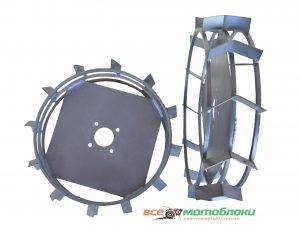 Колеса с грунтозацепами - Ø 560/130 мм