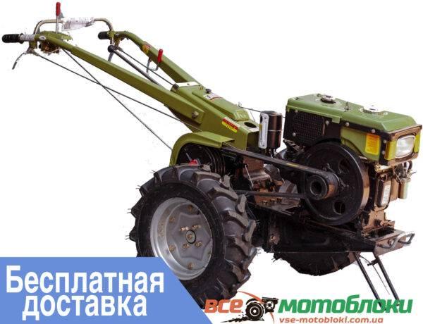 Мотоблок Форте (Forte) МД-101Е(+Фреза) - дизельный (Однодисковый)