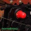 Мотоблок Форте (Forte) МД-121Е(+Фреза) - дизель (Красный) 8878
