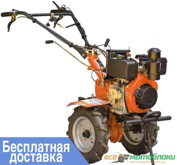 Мотоблок Зубр ХА-31Е – дизельный