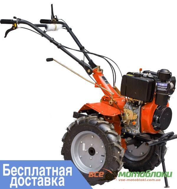Мотоблок ЗУБР HT-135Е – дизельный