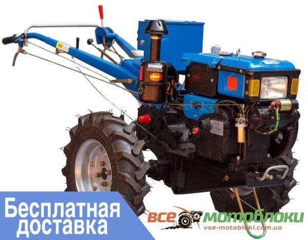 Мотоблок ЗУБР JR-Q78E – дизельный