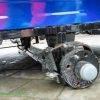 FORTE АМС-01 Прицеп для мотоблока (1400х1100х300)  Под жигулевские колеса (без колес) Тормоза Ленточные 11282