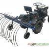 Грабли к мототрактору - 148 см