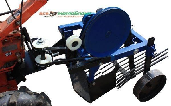 Картофелекопалка вибрационная Zirka-105 (под ВОМ)