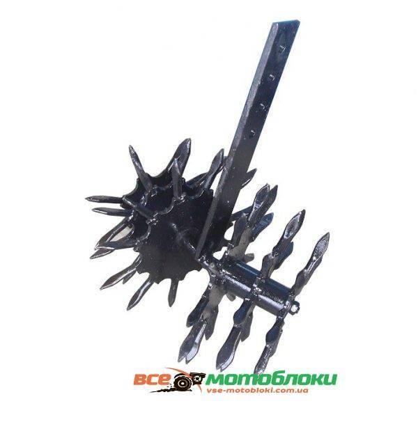 Ежик — рыхлитель ( диаметр по рыхлителям 240мм, толщина стойки 10мм ) (БУЛАТ)