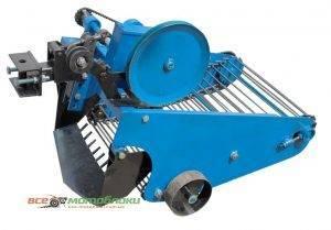 Картофелекопатель транспортерный вибрационный