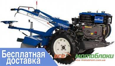 Мотоблок Скаут GS 81 DE – дизельный