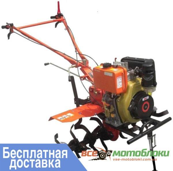 Мотоблок БУЛАТ ВТ 1100D  – бензин