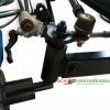 КИТ набор для переоборудования (EXPERT-2) мотоблока в мототрактор, вес=115кг, усиленная балка с регулировкой ширины колеи,усиленная рама из профильной цельнотянутой трубы,дисковые тормоза, универсальная ступица, задний мост не переворачивается, анало 10698
