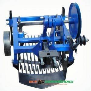Картофелекопатель вибрационный 2-х эксцентриковый под мототрактор с гидравликой (Скаут)