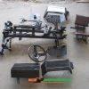 КИТ набор для переоборудования (Премиум — 3) мотоблока в мототрактор, вес=83кг (если отдельно «Базовый + 200грн), усиленная регулируемая балка, регул. сиденье, дисковые тормоза, универсальная ступица со ступичным подшипником)