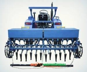Сеялка 12 рядная для минитрактора (зерновая)