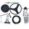 КИТ набор для мотоблока №4 (+ передний и задний подъемный механизм, крепление активной фрезы) 11565