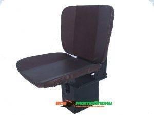 Сиденье для мототрактора.  (мягкое с аммортизатором и регулировкой спинки) (БУМ - 3, EXPERT)