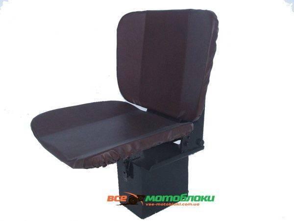 Сиденье для мототрактора EXPERT,Премиум, БУМ - 3 (мягкое с аммортизатором и регулировкой спинки)