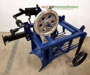 Картофелекопатель механизированный КМ-2 (под ВОМ)
