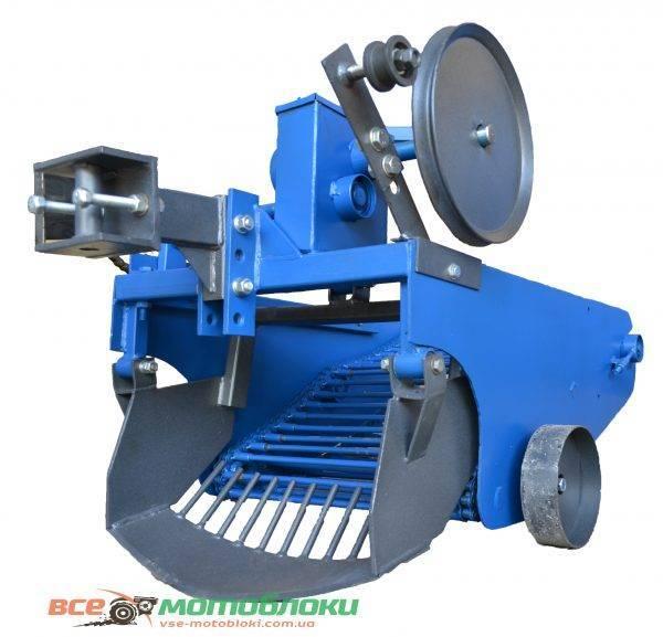 Картофелекопатель механизированный КРТ-1 (КРОТ) транспортерная (800 х 550 х 750) Захват ножа — 460мм, длинна транспортера — 550мм