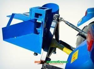 Дровокол (измельчитель веток под минитрактор) с двусторонней заточкой ножей