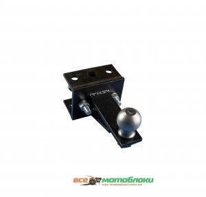 Перехідний зчепний вузол мототрактора (1 точка) під автомобільний причеп