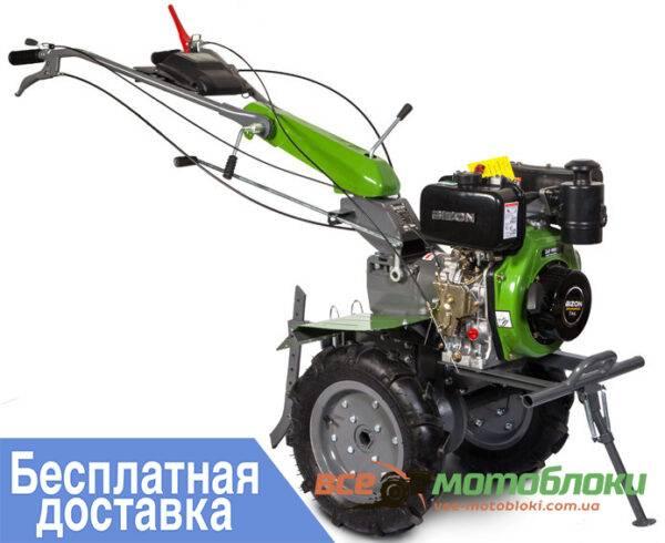 Мотоблок BIZON 1100AE-3 LUX – дизельный