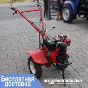 Мотоблок Форте (FORTE) 1050S - дизельный (Красный)