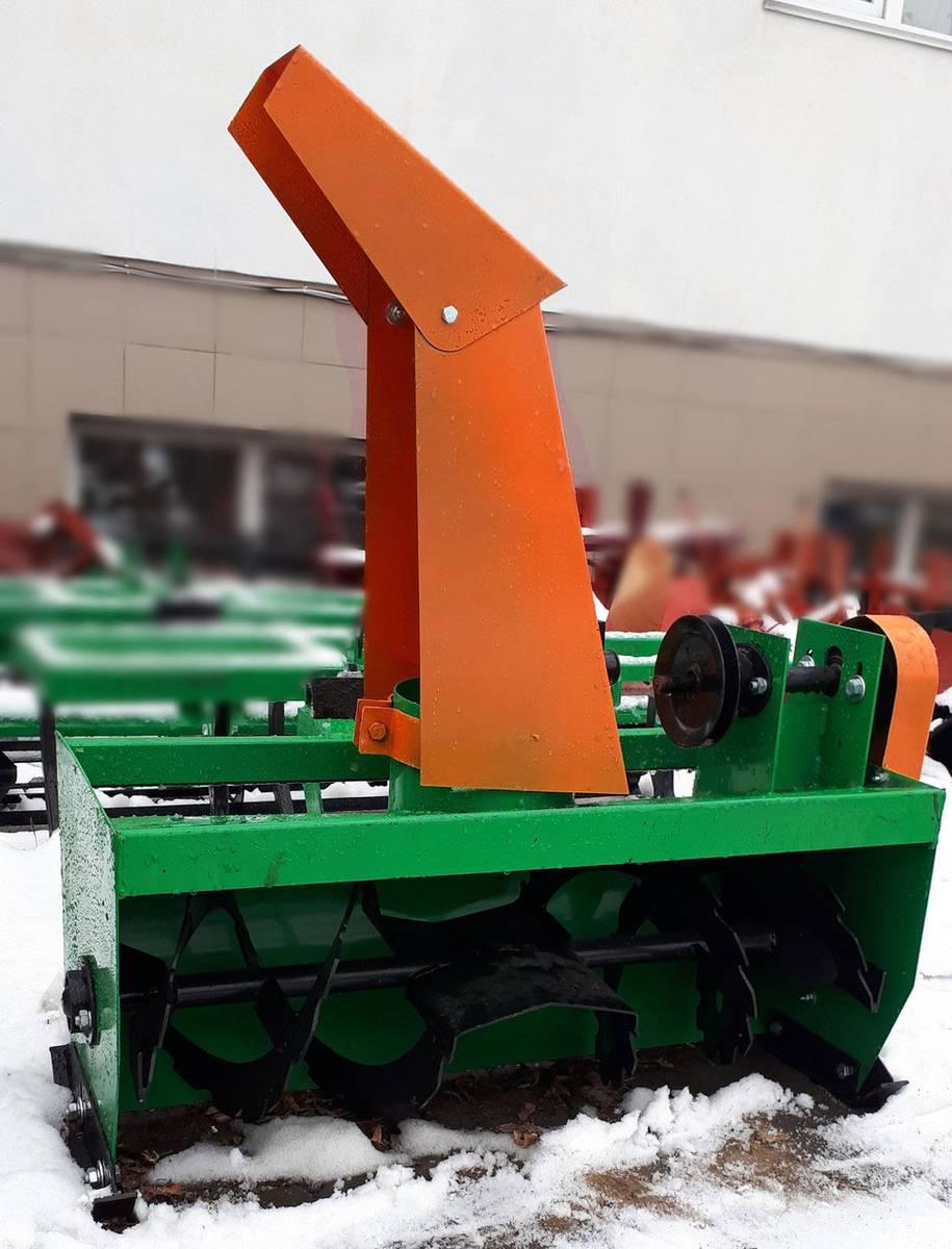 Снегоуборщик мотоблочный фото