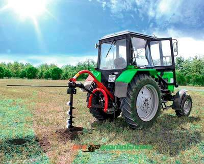 Бун на трактор