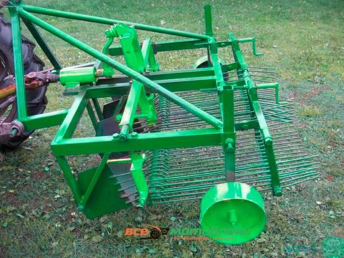 тракторная-картофелекопалка