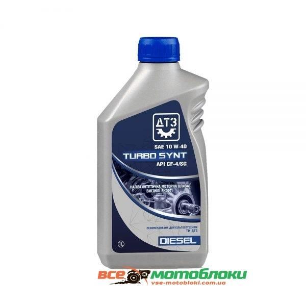 Моторное масло полусинтетическое. ДТЗ Turbo Diesel - 1 л